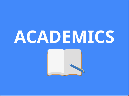academics button