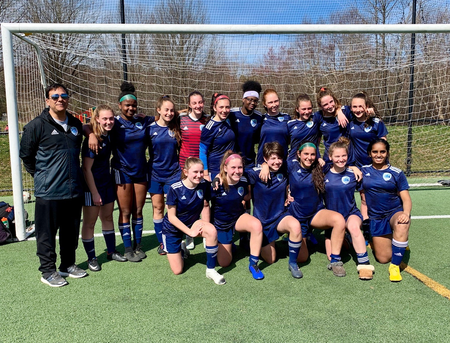 GU15 Rampage PWSI Icebreaker Tournament, White Flight First Place (Coach Hector Morales Jr)