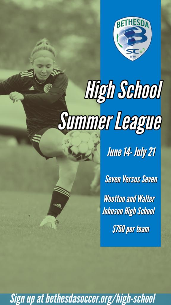 HS Summer League Girls